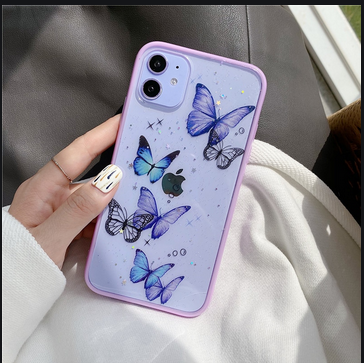 Who Should Buy The Blue butterfly phone case?