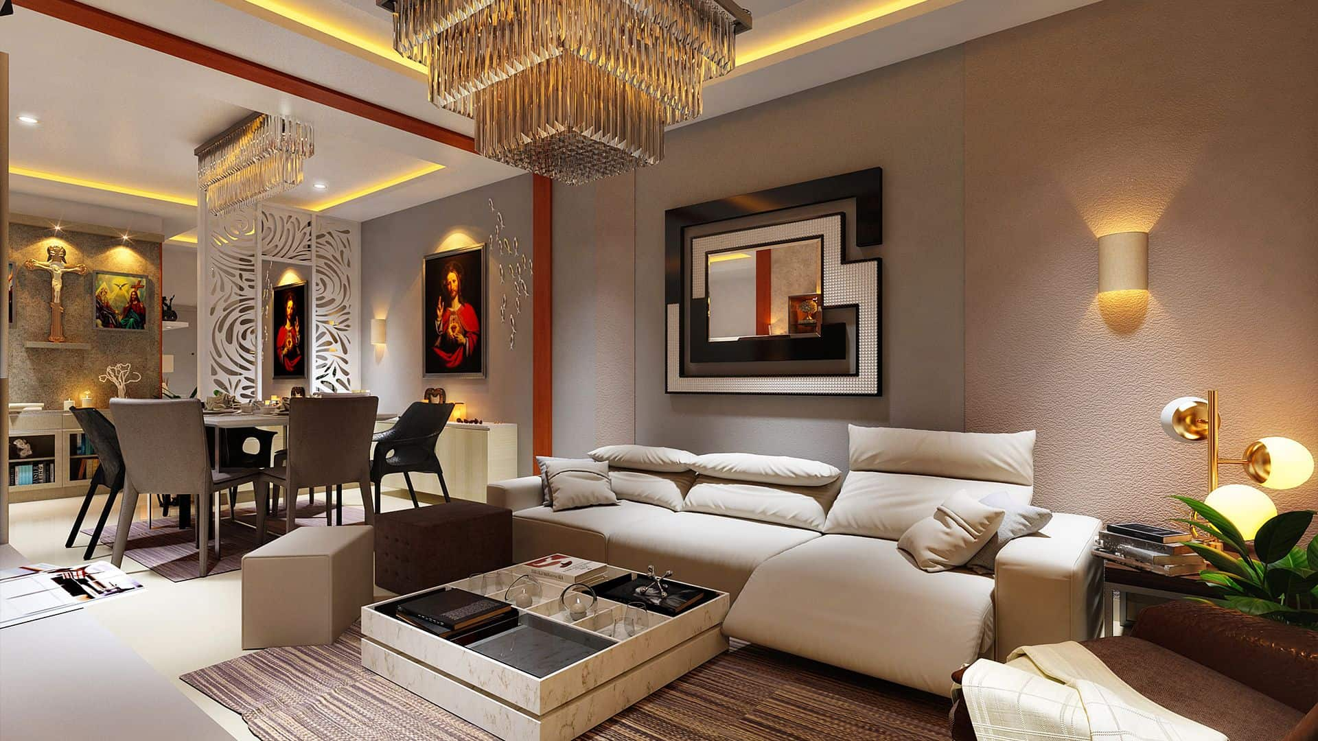 Interior Designer- The Comfort Is Visible To All The Family Member